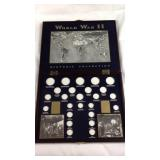 World War II historic collection Coin case
