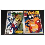 Marvel comics venom four and six