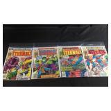 For marvel comics the Eternals 7,15,16,17
