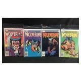 Marvel comics wolverine 1, 2, 3 and 4