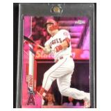 Mike trout TOPPS chrome pink refractor