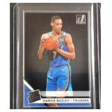 Darius Bazley clearly rated rookie card