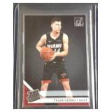Tyler Herro clearly rated rookie card
