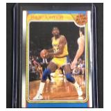 1988 FLEER Magic Johnson All-Star team card