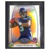 Russell Wilson TOPPS refractor rookie card