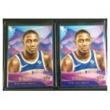 2 RJ Barrett court kings rookie cards