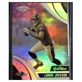 Lamar Jackson gold team rookie card