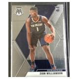Zion Williamson mosaic rookie card