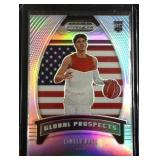 Lamelo Ball Silver PRIZM rookie card