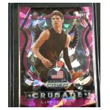 Lamelo Ball pink ice PRIZM rookie card