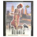 LeBron James city Heights Rookie card