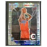 Darius Bazley NBA hoops PRIZM rookie card