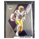 Justin Jefferson variation rookie SP