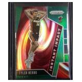 Tyler Herro Green PRIZM basketball card