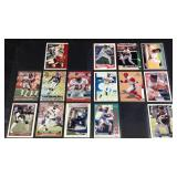 Lot of Deion Sanders trading cards