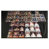 Lot of basketball rookie cards