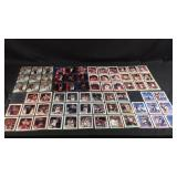 Lot of basketball trading cards