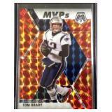 Tom Brady Mosaic PRIZM football card