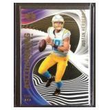 Justin Herbert clear rookie card