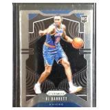 RJ Barrett PRIZM rookie card