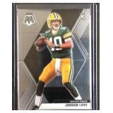 Jordan love mosaic rookie card