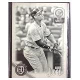 Aaron judge gypsy queen 32/50 baseball card
