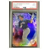 Aaron judge bowman purple rookie card 231/250