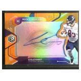 Cole Kmet autographed rookie card 69/125