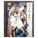 Kevin Garnett premier rookie card