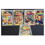 Marvel Ms. Marvel 3,5,6,7,8 comic books