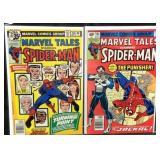 Marvel tales starring Spiderman comic books