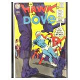 Vintage DC the hawk and the dove number four