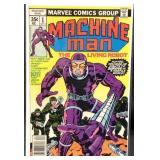 Marvel comics machine man number one