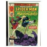 Marvel team up Spiderman Mockingbird comic book