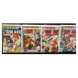 Marvel the invincible Iron Man comic books
