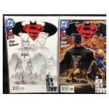 Batman versus superman DC comics