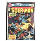 Atlas comics tiger man comic book