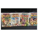 Marvel red Sonja comic books 3,4,6,8