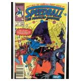 Marvel speedball the mask Marvel comic book