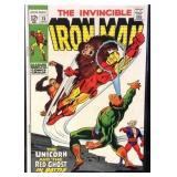 Marvel comics the invincible Iron Man number 15