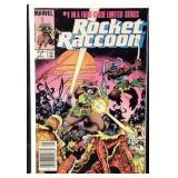 Marvel comics rocket raccoon number one
