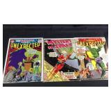 Three vintage DC comic mystery comic books