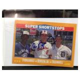 Autographed Cal Ripken Junior baseball card