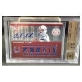 2012 totally certified Andrew luck rookie BGS 9.5