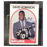1989 David Robinson NBA hoops rookie card 138