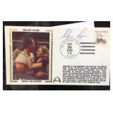 Nolan Ryan autographed with certificate