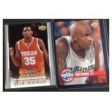 Kevin Durant Chris Webber rookie cards