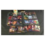 Large lot of marvel cards