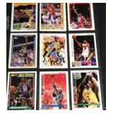 Nine assorted magic Johnson cards