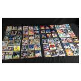 72 assorted baseball cards Sosa, Canseco, Jackson